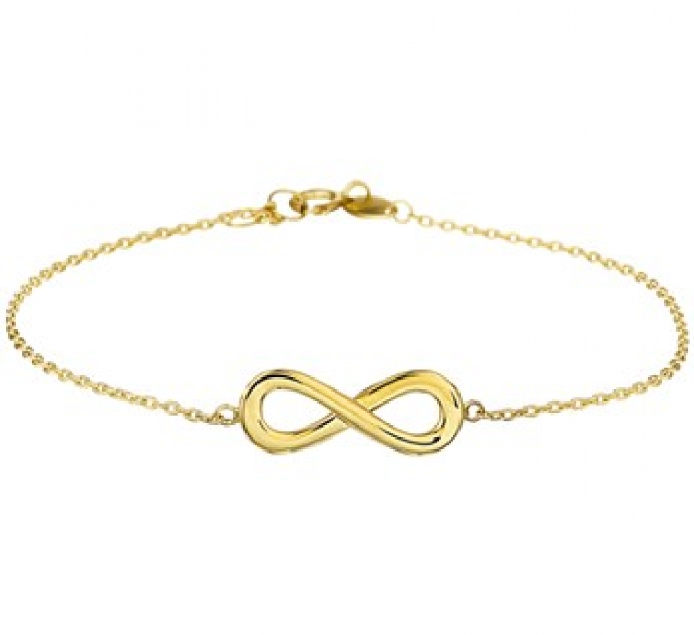 14K Gouden Armband Infinity, Dumas Collection