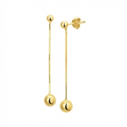 Gouden oorhangers  Dumas Collection