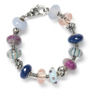 AR244 Pink Happiness Armband  Trollbeads Sieraden Bedels