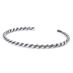 TAGBA Twisted Zilveren Bangle