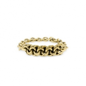 Davina Michelle Gold ring, Buddha to Buddha