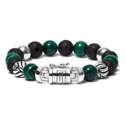 188MM Spirit Bead Mix Malachite, Buddha to Buddha