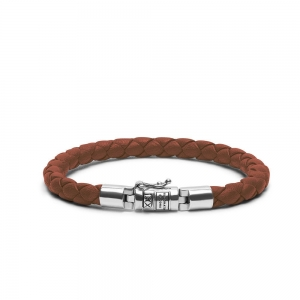 J545CO Ben XS Leather Cognac Armband, Buddha to Buddha