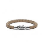 J545SA Ben XS Leather Sand Armband, Buddha to Buddha
