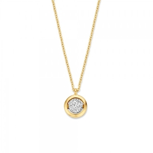 CP416058 Gouden collier diamant  Excellent Jewelry