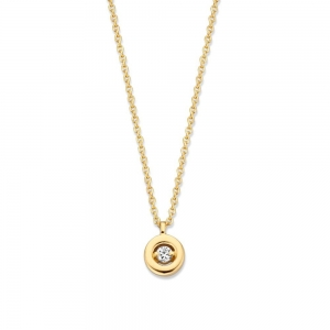 CP116396 Gouden collier diamant  Excellent Jewelry