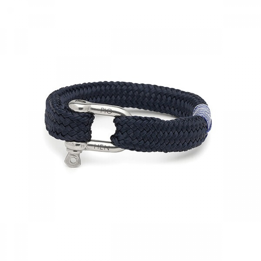 Gorgeous George Navy Armband, Pig & Hen