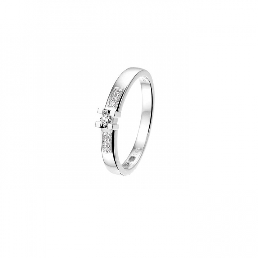 11050WGD-8 Ring, Valenti Jewels